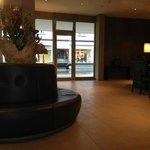 Lobby of Morosani Hotel, Davos