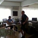 office/lounge area Orange Pekoe GH