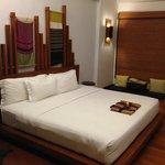 Huge King-size bed