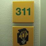 Numérotation des chambres