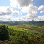 Bassenthwaite valley from upper viewpoint