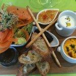 Planche végétarienne (Revisitée très régulièrement au fil des produits de saison)