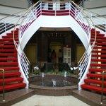 Hal van Hotel Leonardo Weimar