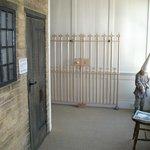 Old prison display