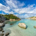 Costa Smeralda wondrous beach, water  & fauna