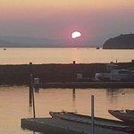 Sunset on Lake Champlain.