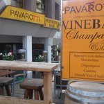 St. Moritz - Pavarotti Winery Bar - terrace