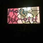 door of hotel