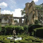 Romantic ruins of Sudeley