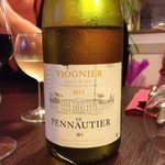 Lovely local Viognier very reasonably priced
