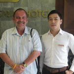 Mr. Phi, efficient and helpful as with all staff