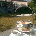 Breakfast in the garden 1