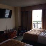 One bedroom two queen suite ocean view
