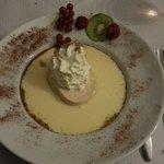 dessert : croquant aux amandes