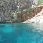 Snorkelling site on Proti Island