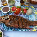 Fried Snapper (Parga) - Simply delicious!