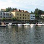 Hotel Porto Antigo à chegada de barco