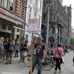 360 Amsterdam - Free Tours. Meeting Point. Picture: Gintaras Girdenis