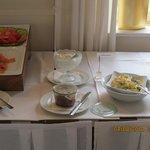 Ausschnitt Frühstücksbuffet
