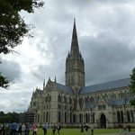 A beautiful English cathedral