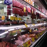 Some exotic meats up for sale.
