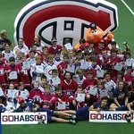 Final group photo from Habs camp