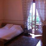 Le lit et le balcon