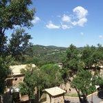uitzicht vanaf balkonterras