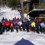 North Country Snowshoe Club at Stone Bridge