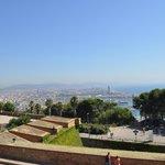 Barcelone depuis Montjuic
