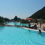1 delle 3 piscine
