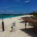 Vista dal Bar sulla spiaggia