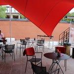cafe area outside