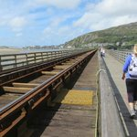 Toll crossing by Barmouth