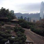 Jardín japonés + vista ciudad