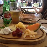 French beer, French cheese. I could almost be in France, even the women are hairy :)