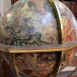 Lovely globe at the State Hall