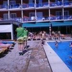 Area da piscina