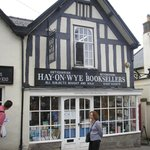 Town of Hay-on-Wye - just a few miles away.