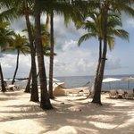 Casa Marina's private beach