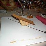 Фуа-гра с медовым кексом