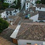 View over houses Albaicin, Granada