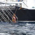 Snorkel ladder