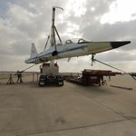 T33 Talon flown by every lunar astronaut on display Oct 2014