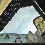 Marksburg Castle - One of the smallest courtyards in Germany