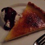 Lemon tart brûlée -- likely one of the best lemon desserts ever had!