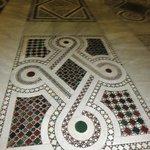 mosaico do piso