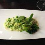 Green risotto