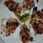 Oysters Irene Appetizer
