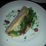 Crispy Bacon, Yorkshire Blue Cheese & Mango Chutney Sandwich